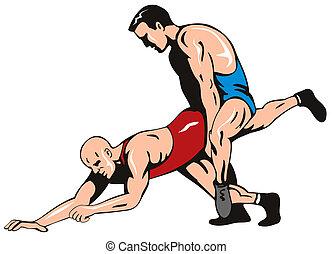freestyle, wrestling