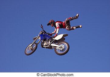 freestyle, x, 14, moto
