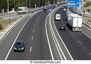 Freeway, highway,