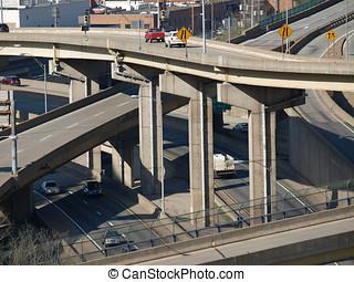 Freeway Ramps and Bridges