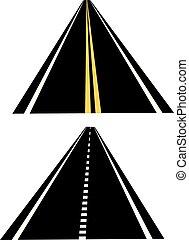Freeway Road Set