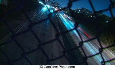 Freeway Traffic Dutch Time-lapse