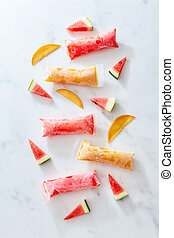 freeze ice pop plastic tube for popsicle packaging with ...