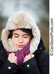 Freezing in winter
