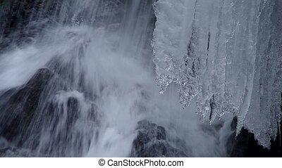 Freezing stream