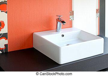 fregadero cuarto baño