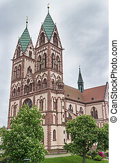 Freiburg Herz-Jesu Church - Famous 19th century Herz-Jesu...