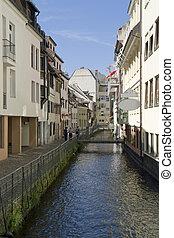 Freiburg im Breisgau at summer time - city view of Freiburg...