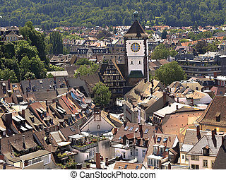 Freiburg im Breisgau - Town Freiburg im Breisgau in Germany