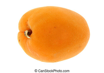 freigestellt, aprikose