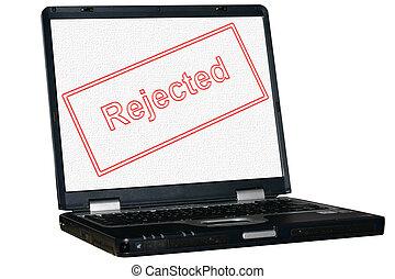 freigestellt, laptop