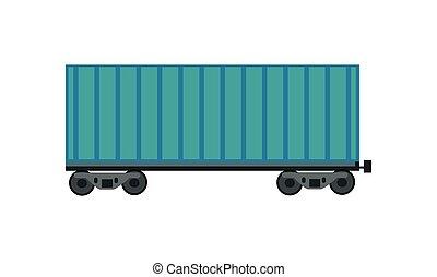 Freight Car Icon