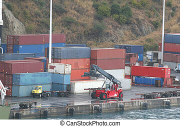 Freight on Dock