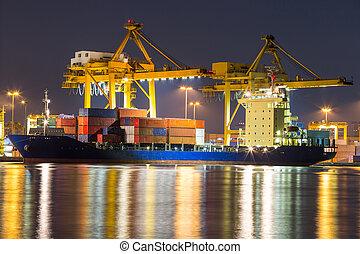 freight ship