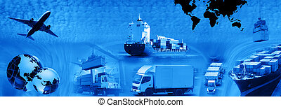 Freight template 2010 - Photo montage of freight/transport ...