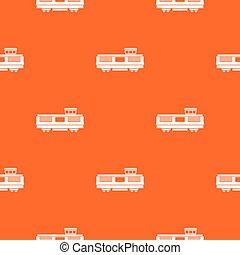 Freight train pattern seamless