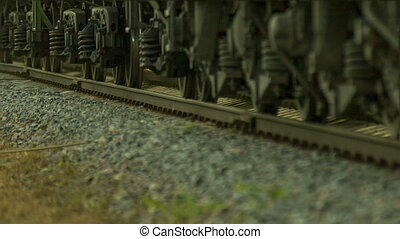 Freight train rides by rail