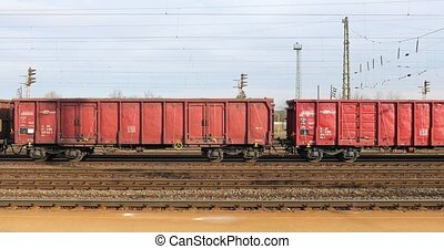Freight train wagons