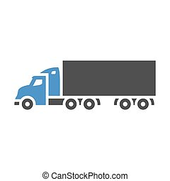 Freight transport icon
