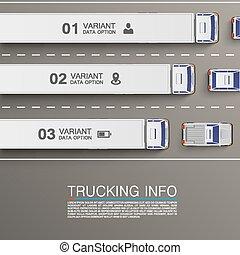 Freight transportation info