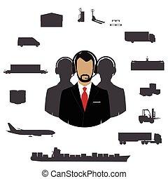 Freight transportation logistics