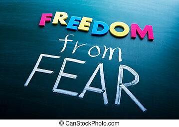 freiheit, fürchten