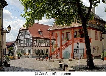 freinsheim, quadrado