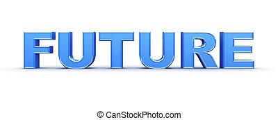 fremtid, glose, tegn