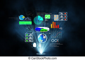 fremtidsprægede, teknologi, grænseflade