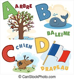 French alphabet part 1