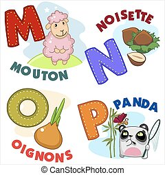 French alphabet part 4