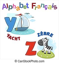 French alphabet part 7