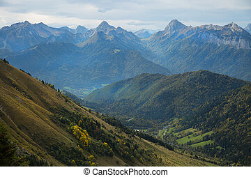 French Alps in France