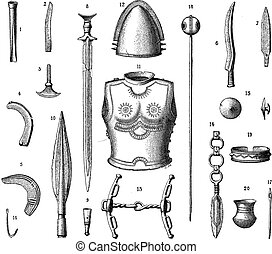 French Armor and Weapons During the Younger Bronze Age,...