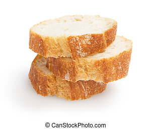 french baguette slices