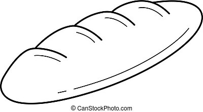 French Baguette Clipart Vector And Illustration 2040