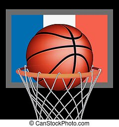 French basket ball