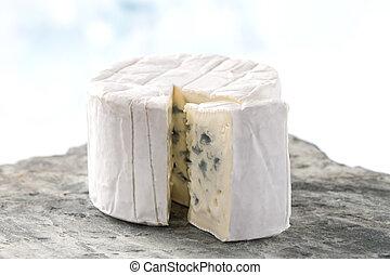 French blue cheese Bresse Bleu - French blue Bresse Bleu ...