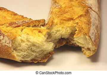 french bread, baguette