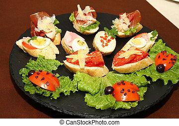 French bread salami