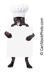 French bulldog in a chef's hat