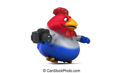 French chick - 3D Animation