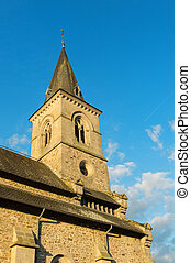 French church tower