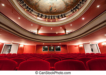 french classical theater - 19th Cahors luxurious classical...