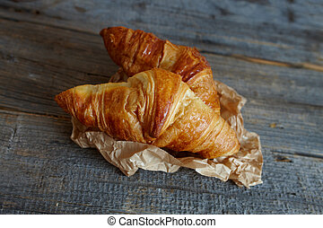 French croissants Crescents