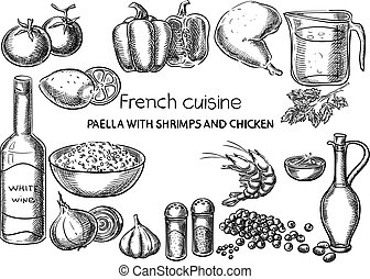 French cuisine.