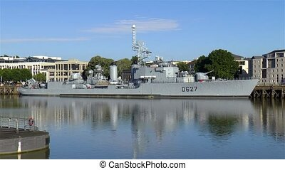 Museum of Le Maill?-Br?z?; Museum of the French destroyer Maill?-Br?z?, in Nantes, France.