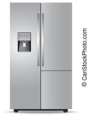 French door refrigerator  - French door, refrigerator