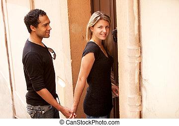 French European Couple