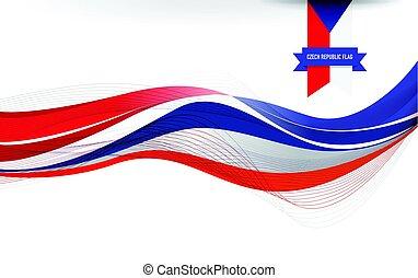 French flag background